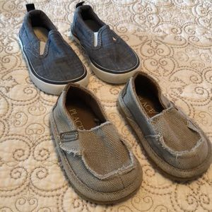 Gap boy shoe LOT size 4 and 5